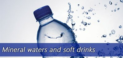 Mineral waters and soft drinks